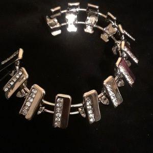 BCBG silver bracelet